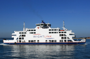 Wightlink vehicle ferry